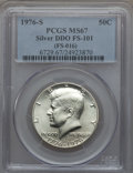 Kennedy Half Dollars, 1976-S 50C Silver, Doubled Die Obverse, FS-101, MS67 PCGS. PCGS Population (11/1). NGC Census: (3/0).. From The Bristol...