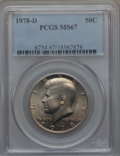 1978-D 50C MS67 PCGS. PCGS Population (28/0). NGC Census: (8/0). Mintage: 13,765,799. From The Bristol Collection.&l...