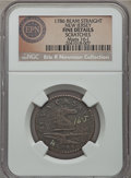 Colonials, 1786 NJERSY New Jersey Copper, Narrow Shield -- Scratches -- NGC Details. Fine. M. 16-J, W-4834, Low R.6. Ex: Eric P. Newman...