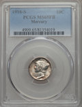 1916-S 10C MS65 Full Bands PCGS. PCGS Population (152/103). NGC Census: (78/32). Mintage: 10,450,000. CDN Wsl. Price for...