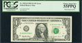Error Notes:Ink Smears, Fr. 1922-H $1 1995 Federal Reserve Note. PCGS Choice About New55PPQ.. ...