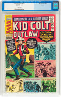 Silver Age (1956-1969):Western, Kid Colt Outlaw #130 Boston Pedigree (Atlas/Marvel, 1966) CGC NM/MT9.8 White pages....