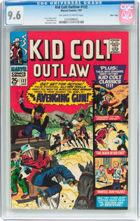 Kid Colt Outlaw #132 Massachusetts Pedigree (Atlas/Marvel, 1967) CGC NM+ 9.6 Off-white to white pages