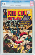 Silver Age (1956-1969):Western, Kid Colt Outlaw #134 Massachusetts Pedigree (Atlas/Marvel, 1967)CGC NM+ 9.6 Off-white to white pages....
