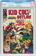 Silver Age (1956-1969):Western, Kid Colt Outlaw #138 (Atlas/Marvel, 1968) CGC NM 9.4 Off-whitepages....
