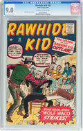 Silver Age (1956-1969):Western, Rawhide Kid #18 (Marvel, 1960) CGC VF/NM 9.0 Off-white to whitepages....