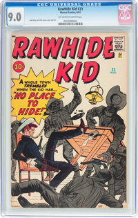 Rawhide Kid #23 (Marvel, 1961) CGC VF/NM 9.0 Off-white to white pages