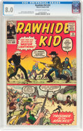 Silver Age (1956-1969):Western, Rawhide Kid #34 (Marvel, 1963) CGC VF 8.0 Off-white to whitepages....