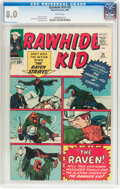 Silver Age (1956-1969):Western, Rawhide Kid #35 (Marvel, 1963) CGC VF 8.0 White pages....