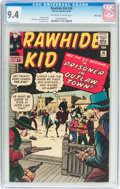 Silver Age (1956-1969):Western, Rawhide Kid #36 Massachusetts Pedigree (Marvel, 1963) CGC NM 9.4Off-white to white pages....