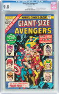 Bronze Age (1970-1979):Superhero, Giant-Size Avengers #5 (Marvel, 1975) CGC NM/MT 9.8 White pages....