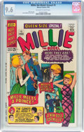 Silver Age (1956-1969):Humor, Millie the Model Annual #5 (Marvel, 1966) CGC NM+ 9.6 Off-white to white pages....
