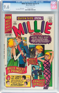 Millie the Model Annual #5 (Marvel, 1966) CGC NM+ 9.6 Off-white to white pages