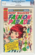 Silver Age (1956-1969):Humor, Patsy Walker's Fashion Parade #1 (Marvel, 1966) CGC VF/NM 9.0 Off-white pages....