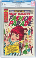 Silver Age (1956-1969):Humor, Patsy Walker's Fashion Parade #1 Canadian Edition (Marvel, 1966) CGC NM+ 9.6 Off-white to white pages....