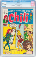 Silver Age (1956-1969):Humor, Chili #1 (Marvel, 1969) CGC NM+ 9.6 Off-white to white pages....