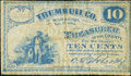 Obsoletes By State:Ohio, Warren, OH- Trumbull County 10¢ Nov. 15, 1862. ...