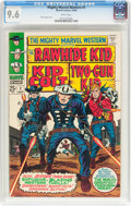 Silver Age (1956-1969):Western, Mighty Marvel Western #1 (Marvel, 1968) CGC NM+ 9.6 White pages....