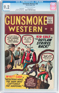 Silver Age (1956-1969):Western, Gunsmoke Western #56 (Atlas/Marvel, 1960) CGC NM- 9.2 Off-white towhite pages....
