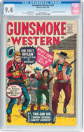 Silver Age (1956-1969):Western, Gunsmoke Western #58 (Marvel, 1960) CGC NM 9.4 Off-white to whitepages....