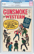 Silver Age (1956-1969):Western, Gunsmoke Western #69 (Marvel, 1962) CGC VF/NM 9.0 Off-white towhite pages....