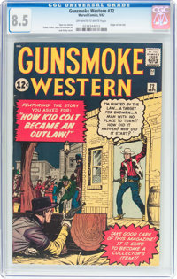 Gunsmoke Western #72 (Marvel, 1962) CGC VF+ 8.5 Off-white to white pages