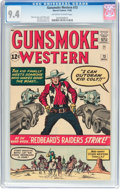Silver Age (1956-1969):Western, Gunsmoke Western #73 (Marvel, 1962) CGC NM 9.4 Off-white to whitepages....
