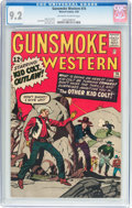 Silver Age (1956-1969):Western, Gunsmoke Western #74 (Marvel, 1963) CGC NM- 9.2 Off-white to whitepages....