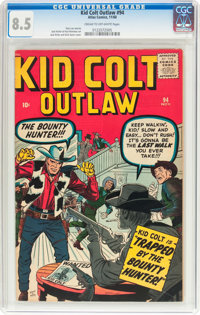 Kid Colt Outlaw #94 (Marvel, 1960) CGC VF+ 8.5 Cream to off-white pages