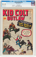 Silver Age (1956-1969):Western, Kid Colt Outlaw #99 (Marvel, 1961) CGC VF 8.0 Off-white pages....