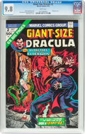 Bronze Age (1970-1979):Horror, Giant-Size Dracula #2 (Marvel, 1974) CGC NM/MT 9.8 White pages....