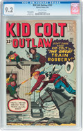 Silver Age (1956-1969):Western, Kid Colt Outlaw #103 (Atlas/Marvel, 1962) CGC NM- 9.2 Off-whitepages....