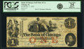 Chicago, IL - Bank of Chicago (of Seth Paine) $1 Deposit Note Nov. 1, 1852. PCGS Very Fine 25 Apparent