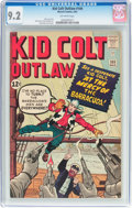 Silver Age (1956-1969):Western, Kid Colt Outlaw #109 (Atlas/Marvel, 1963) CGC NM- 9.2 Off-whitepages....