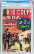 Silver Age (1956-1969):Western, Kid Colt Outlaw #116 (Atlas/Marvel, 1964) CGC NM+ 9.6 Off-white towhite pages....