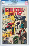 Silver Age (1956-1969):Western, Kid Colt Outlaw #119 (Atlas/Marvel, 1964) CGC NM 9.4 Cream tooff-white pages....