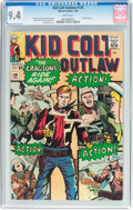 Silver Age (1956-1969):Western, Kid Colt Outlaw #120 (Atlas/Marvel, 1965) CGC NM 9.4 Whitepages....