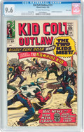 Silver Age (1956-1969):Western, Kid Colt Outlaw #121 Massachusetts Pedigree (Atlas/Marvel, 1965)CGC NM+ 9.6 Off-white to white pages....