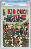 Silver Age (1956-1969):Western, Kid Colt Outlaw #123 (Atlas/Marvel, 1965) CGC NM 9.4 Whitepages....