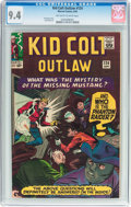 Silver Age (1956-1969):Western, Kid Colt Outlaw #124 (Atlas/Marvel, 1965) CGC NM 9.4 Off-white towhite pages....