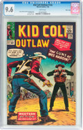 Silver Age (1956-1969):Western, Kid Colt Outlaw #126 Massachusetts Pedigree (Atlas/Marvel, 1966)CGC NM+ 9.6 White pages....