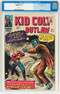 Silver Age (1956-1969):Western, Kid Colt Outlaw #127 Boston Pedigree (Atlas/Marvel, 1966) CGC NM/MT9.8 White pages....