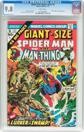 Bronze Age (1970-1979):Superhero, Giant-Size Spider-Man #5 (Marvel, 1975) CGC NM/MT 9.8 White pages....