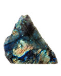 Lapidary Art:Carvings, Labradorite. Madagascar. 6.30 x 2.60 x 5.67 inches (16.00 x 6.60 x 14.40 cm). ...