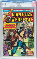 Bronze Age (1970-1979):Horror, Giant-Size Werewolf By Night #2 (Marvel, 1974) CGC NM/MT 9.8 Whitepages....