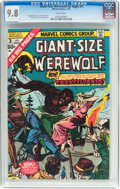 Bronze Age (1970-1979):Horror, Giant-Size Werewolf By Night #3 (Marvel, 1975) CGC NM/MT 9.8 Whitepages....
