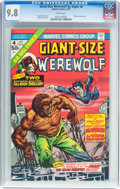 Bronze Age (1970-1979):Horror, Giant-Size Werewolf By Night #4 (Marvel, 1975) CGC NM/MT 9.8 Whitepages....