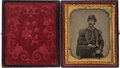Photography:Tintypes, Union General Patrick Henry Jones: Sixth Plate Tintype....