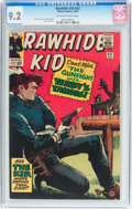 Silver Age (1956-1969):Western, Rawhide Kid #42 (Marvel, 1964) CGC NM- 9.2 Off-white to whitepages....