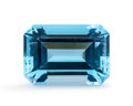 Gems:Faceted, Gemstone: Blue Topaz - 17.32 Ct.. Brazil. 17.3 x 12 x 8.8mm. ...